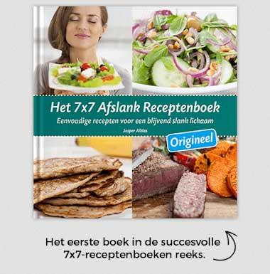 7×7 afslank receptenboek